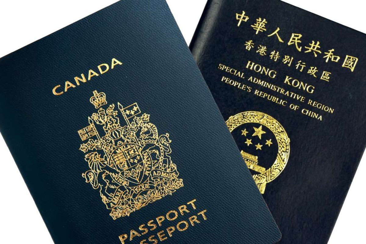 Many Hongkongers Took Out Canadian Citizenship To Get A Second Passport, In  Addition To The