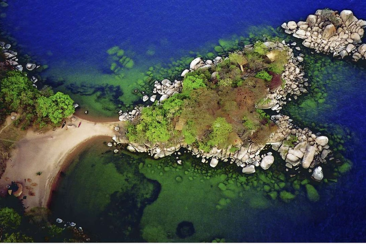 Mumbo Island in the Lake Malawi National Park.