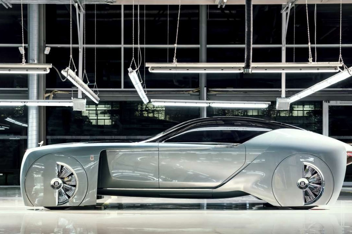 The 103EX provides a glimpse of the direction in which Rolls-Royce's car-making is heading in the years to come.