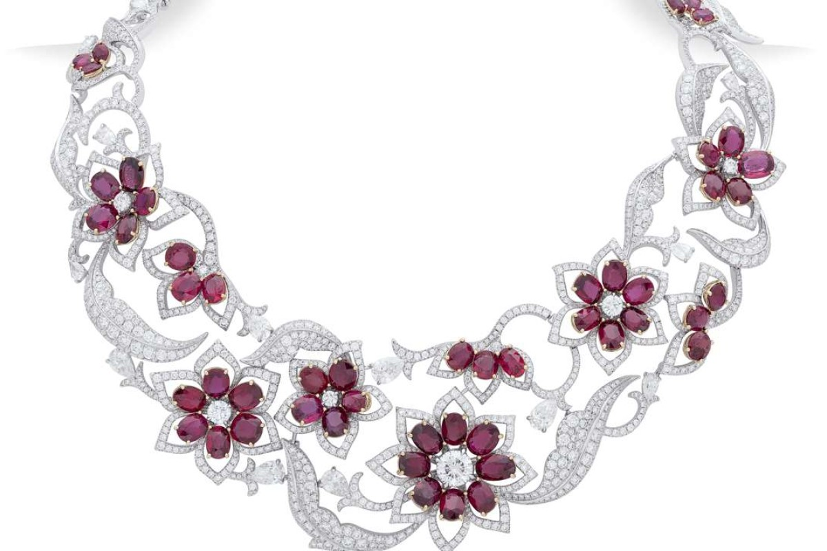 Nirav Modi's Amaranth ruby necklace