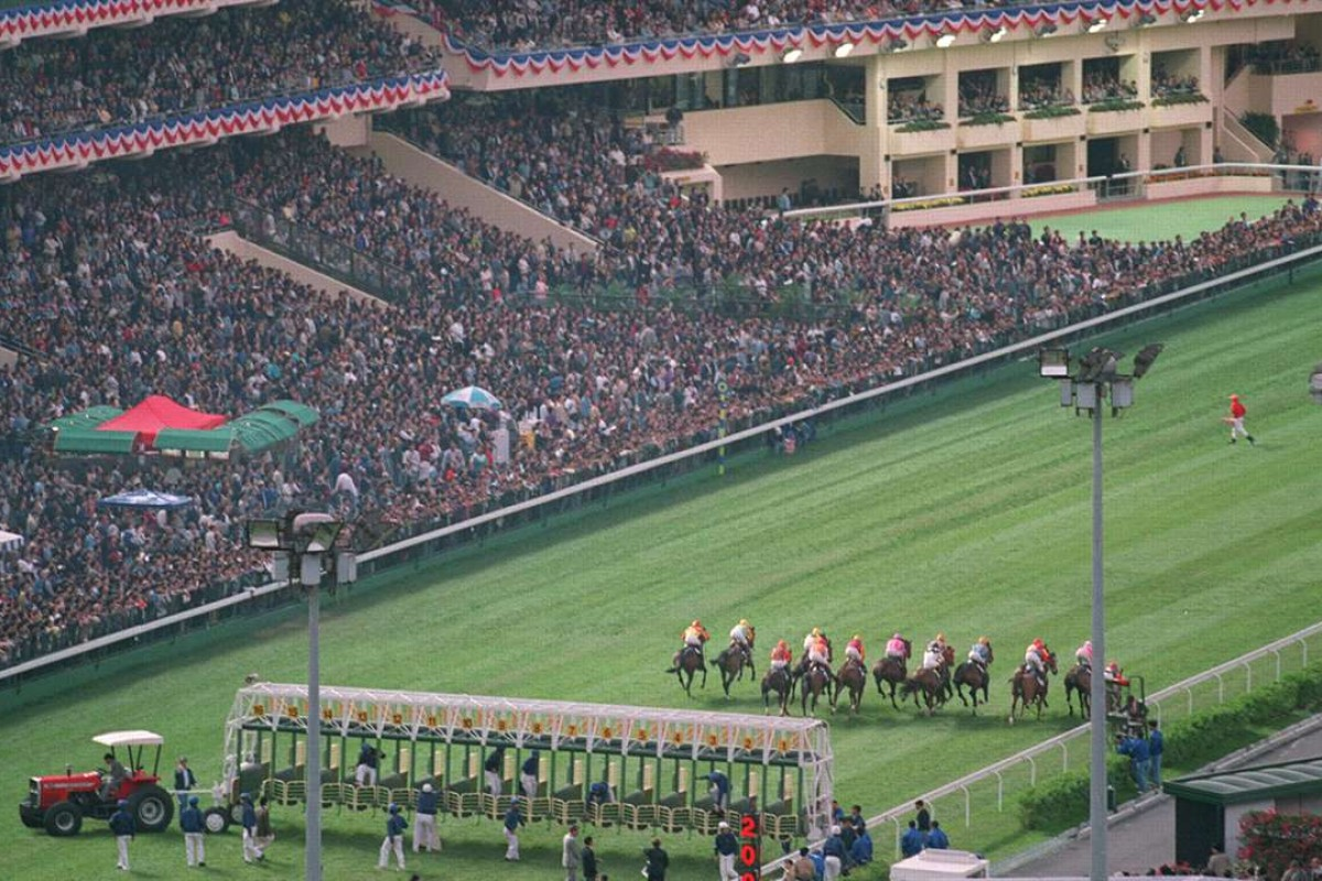 Happy Valley in 1995. Photo: SCMP