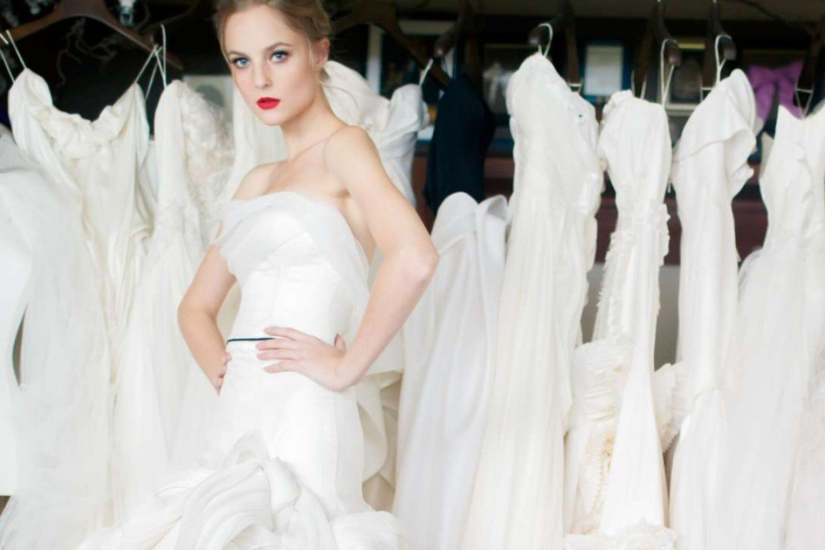Wedding gowns should be made by a designer who can be trusted, say ...