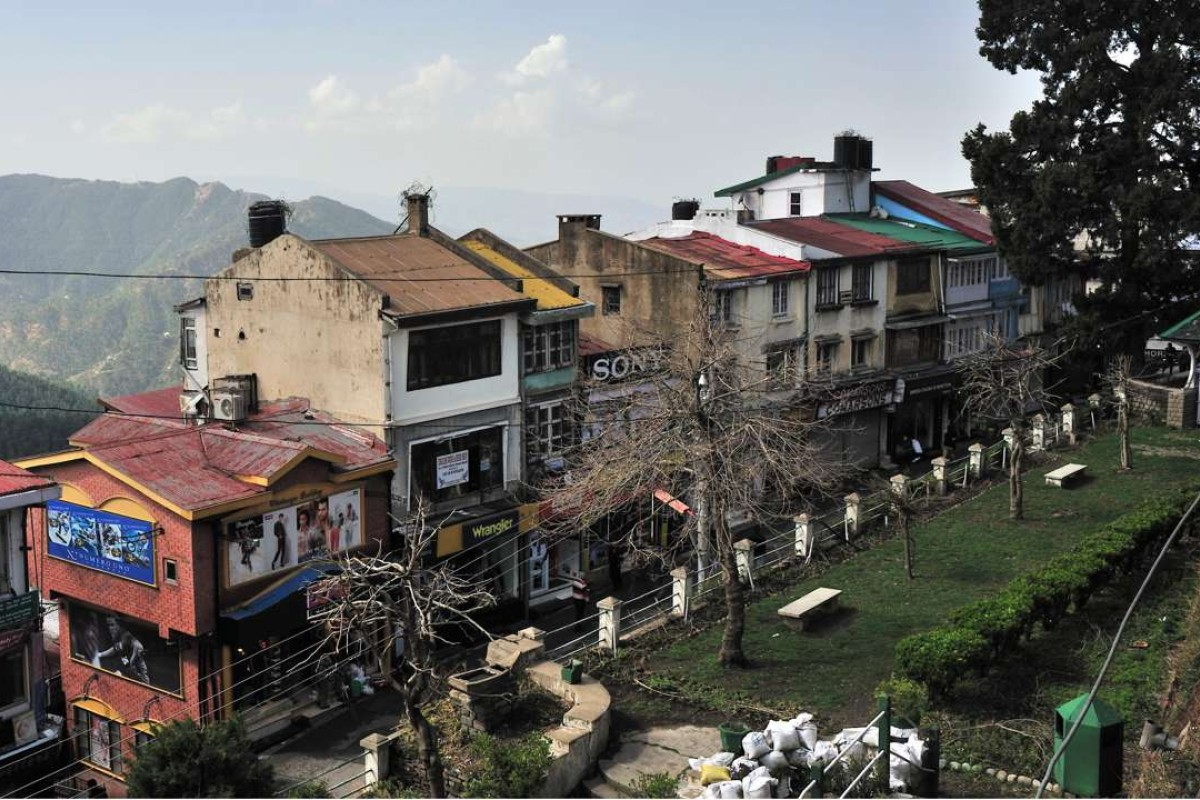 Mall Road, in Shimla, India. Picture: Alamy
