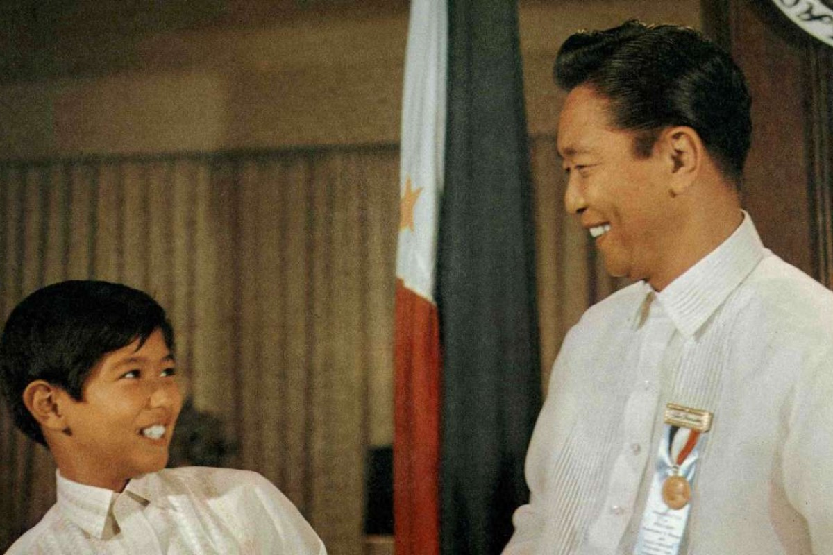 The young Ferdinand 'Bongbong' Marcos Jr. and his father Ferdinand Sr. Photo: Malacanang Museum and Library