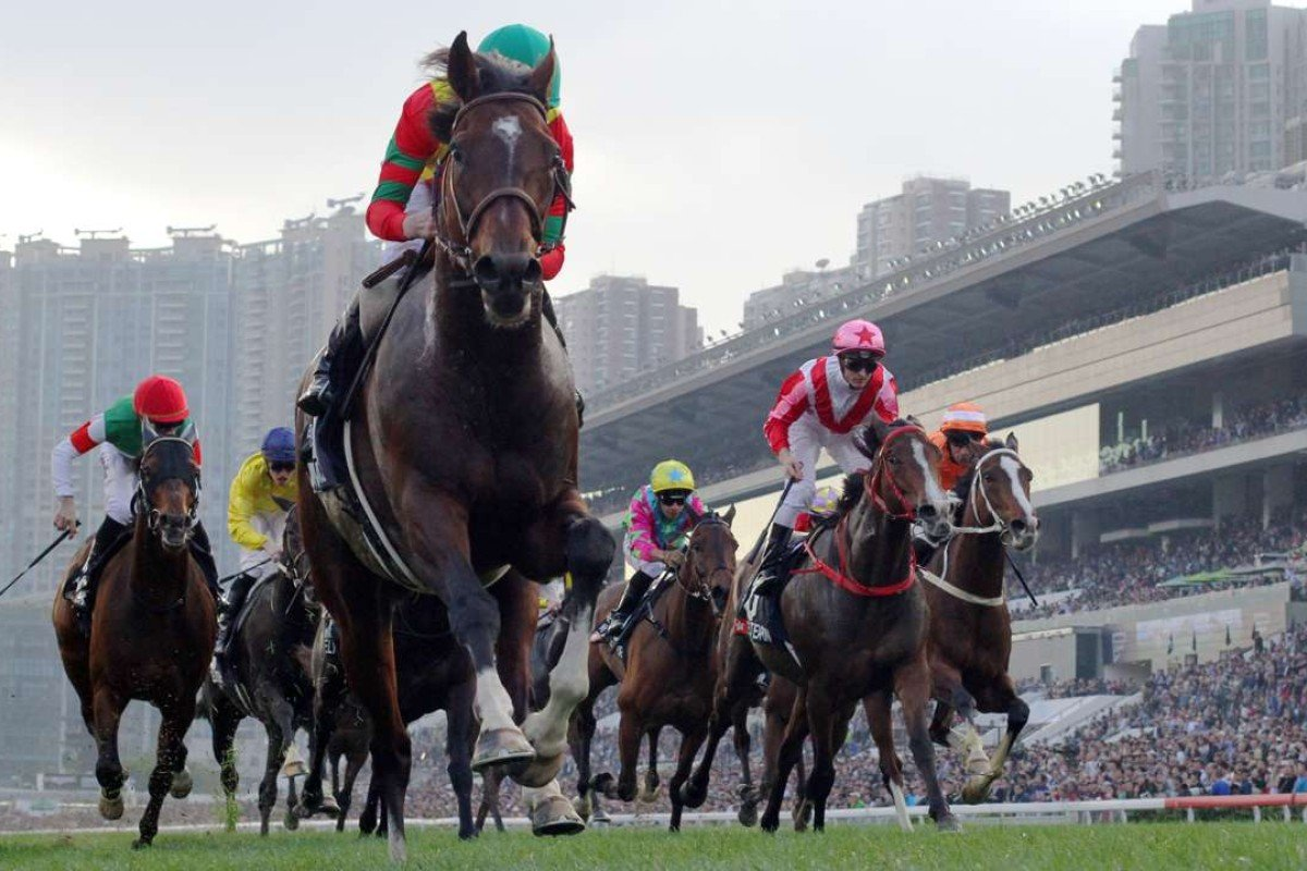 Maurice dominates his rivals in the Longines Hong Kong Cup. Photos: Kenneth Chan