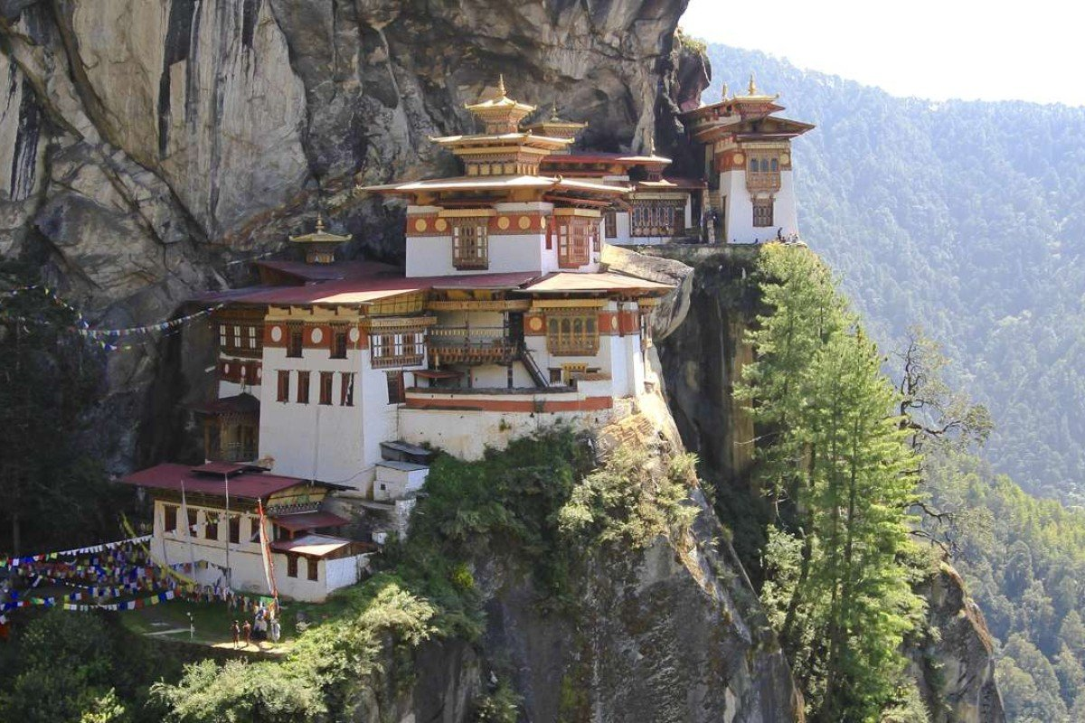 Destinations on the Razor's Edge itinerary include the Tiger's Nest Monastery, in Bhutan.