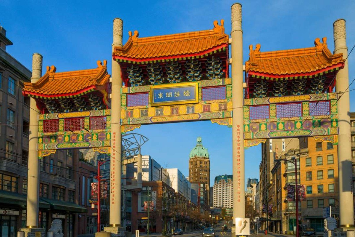 Millennium Gate, the entrance to Vancouver's Chinatown. Picture: Alamy