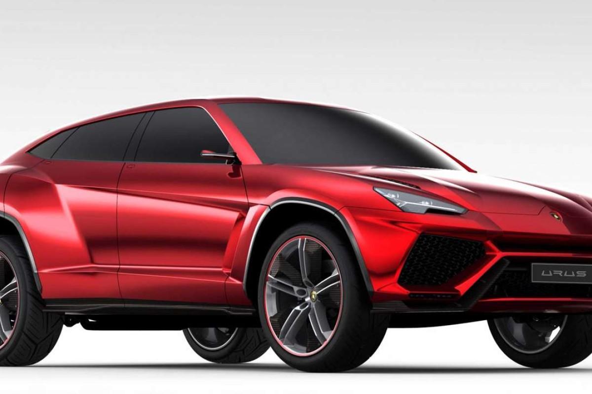 Lamborghini Urus Concept SUV hybrid