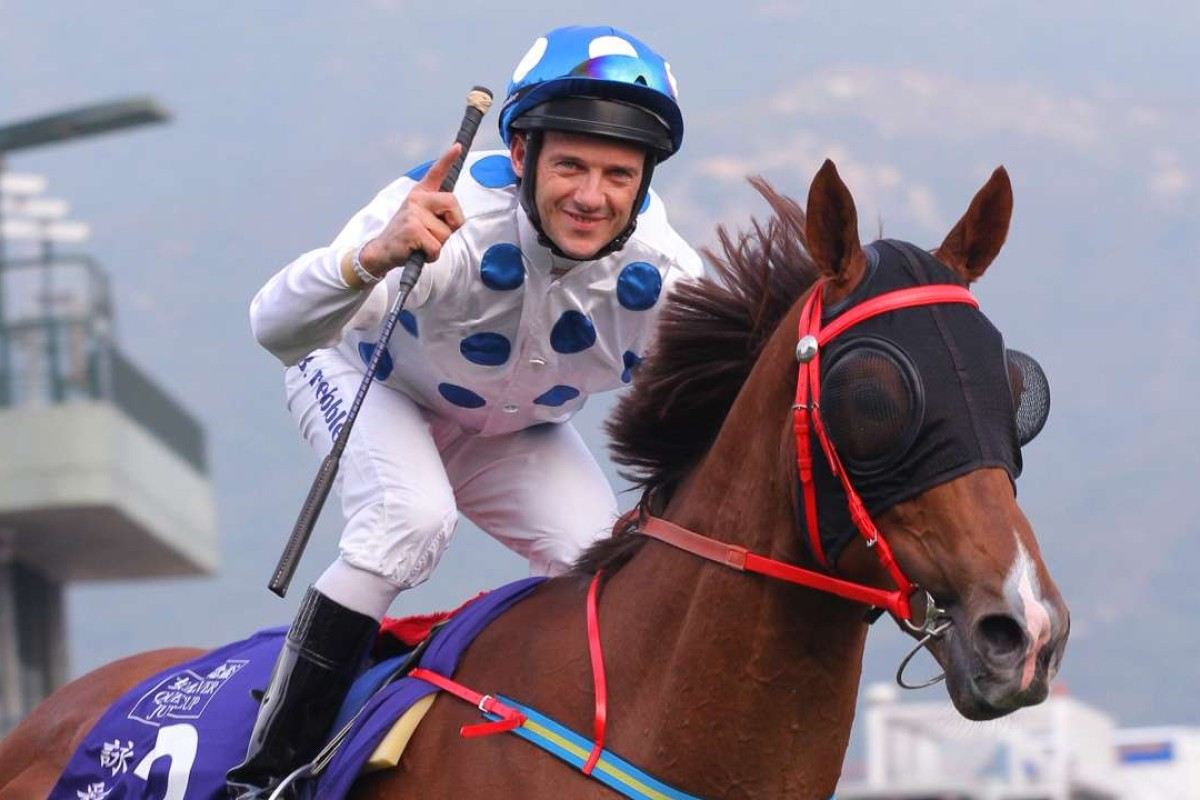 Brett Prebble and Contentment. Photos: Kenneth Chan