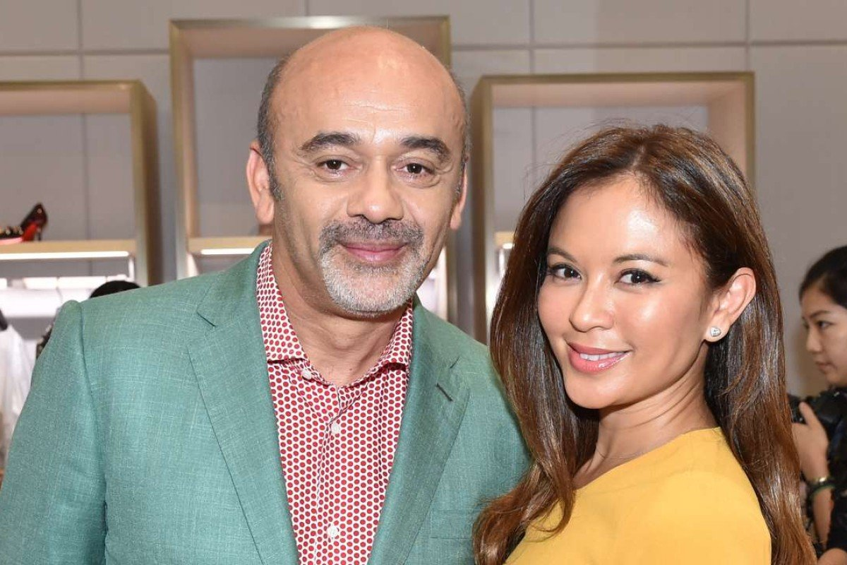 Christian Louboutin and Wendy Puyat