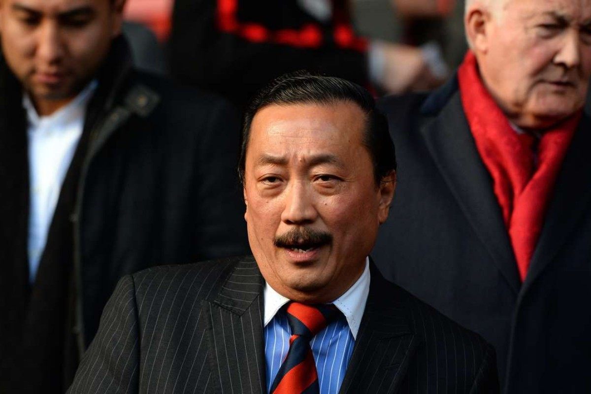 Cardiff City's Malaysian owner Vincent Tan. Photo: AFP