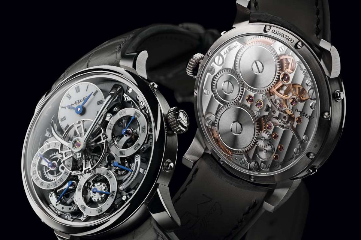 MB&F Legacy Machine Perpetual - grey face (unlimited)