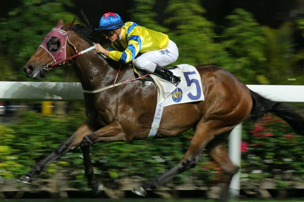 Isaac wins well for Zac Purton at Happy Valley last start. Photos: Kenneth Chan.