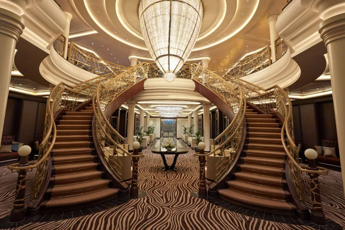 This extravagant luxury cruise ship is built for the world\'s most ...