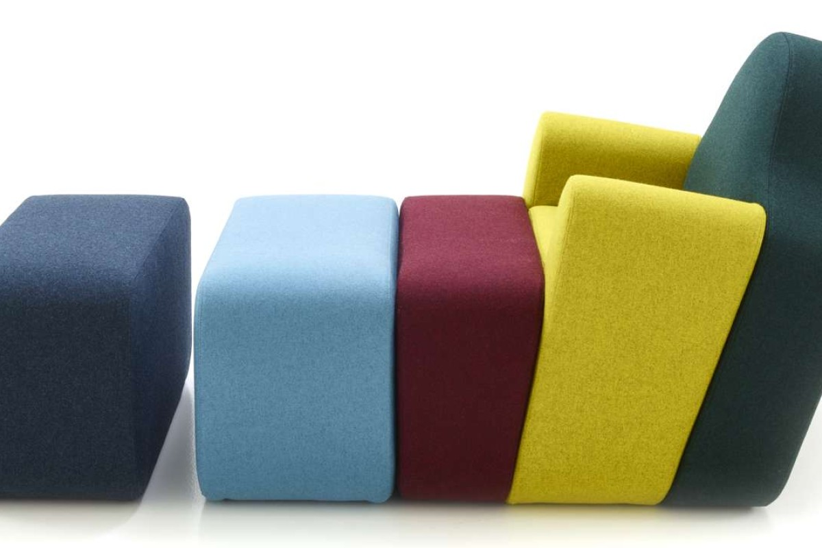 The Slice Couch Pierre Charpin Designed For The Cinna Division Of Ligne  Roset
