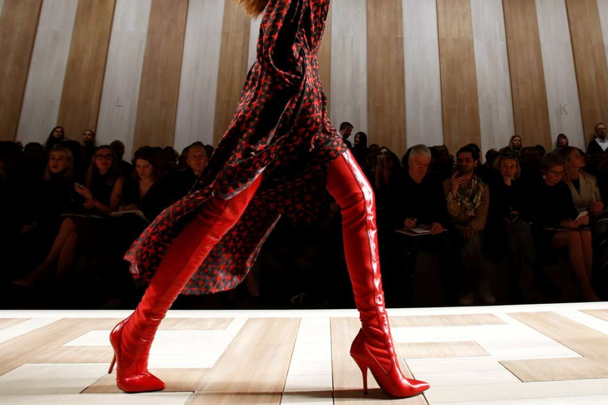 Fendi's autumn-winter 2017/2018 collection at Milan fashion week. Photo: REUTERS