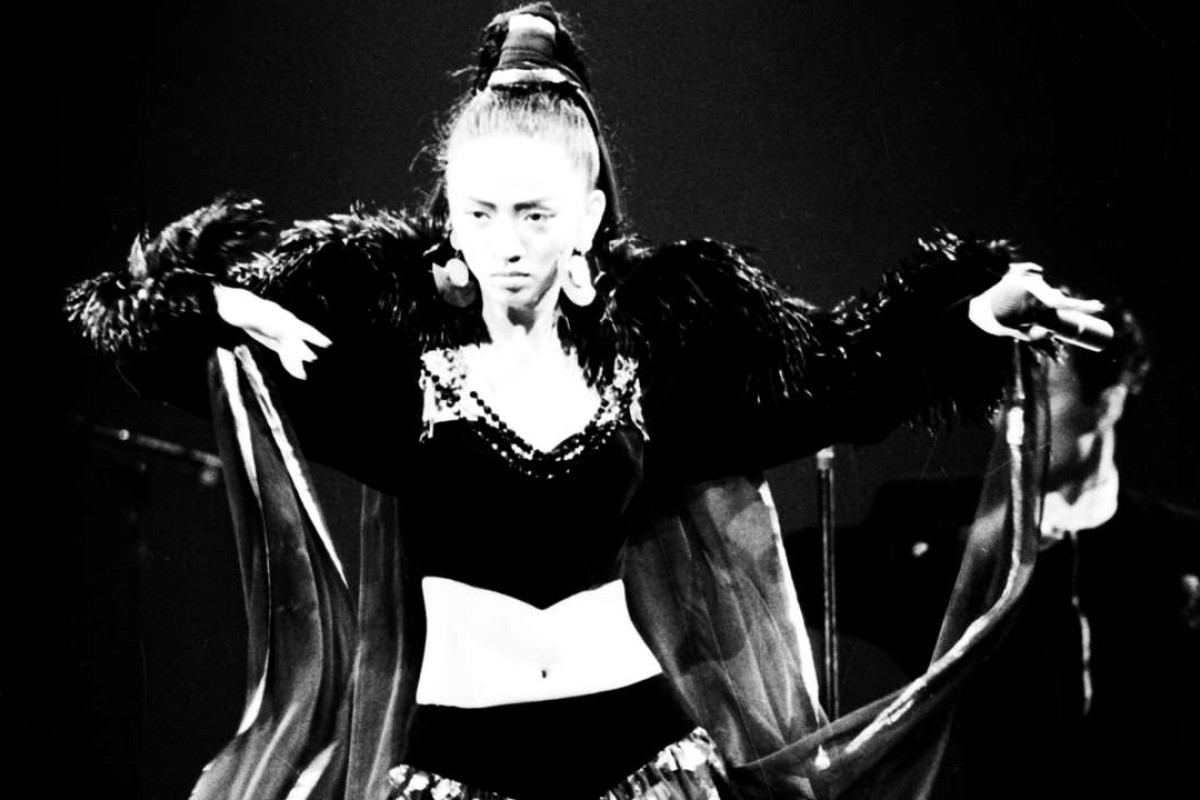 Anita Mui at the Hong Kong Coliseum, in 1988. Picture: SCMP