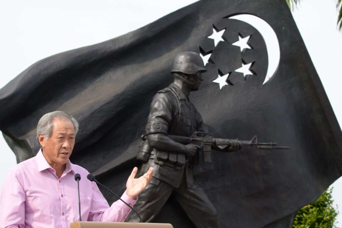 Ng Eng Hen, Singapore's Minister of Defence. Photo: AFP