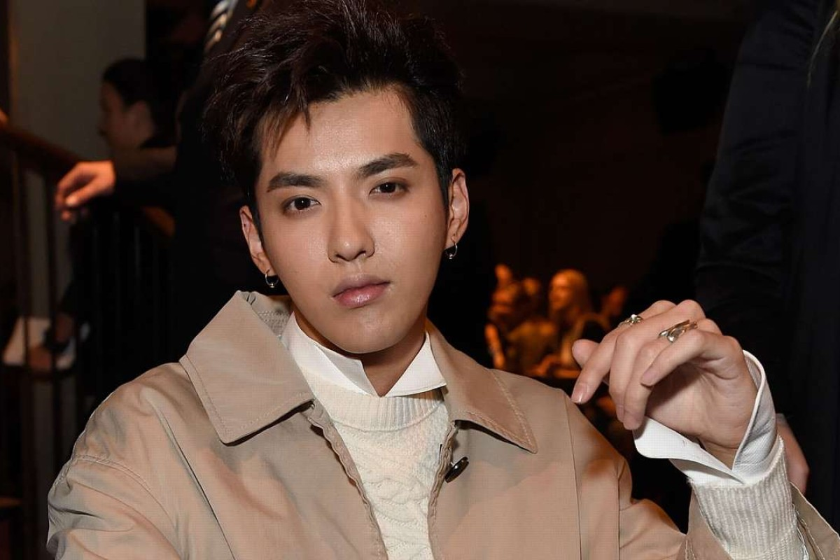 Kris Wu wearing Burberry attends the Burberry February 2017 Show during London Fashion Week