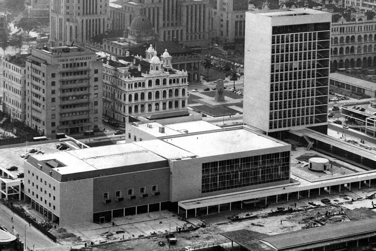 City Hall opened on the Central harbourfront as it was then in 1962.