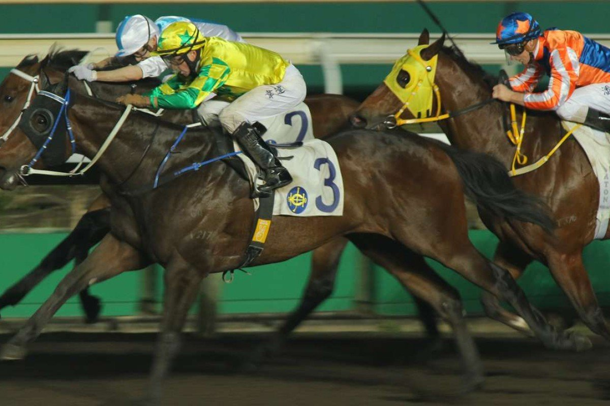 Sky King wins at Sha Tin earlier this month. Photos: Kenneth Chan