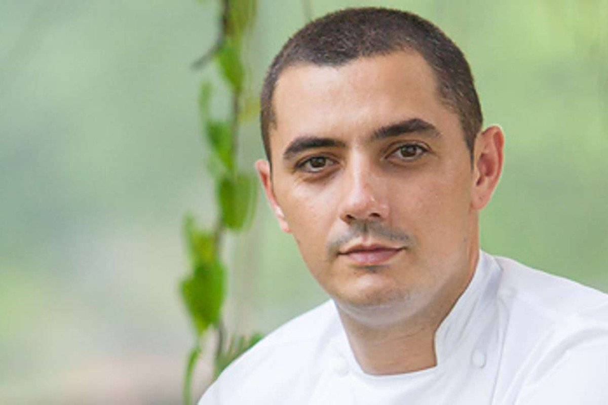 Chef Julien Royer, of Odette restaurant in Singapore.