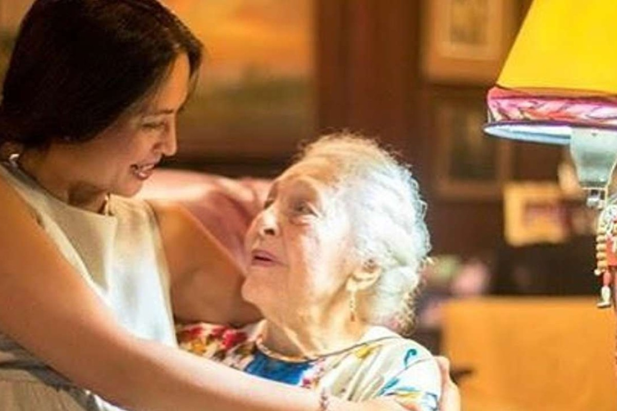 Filmmaker Sunshine Lichauco de Leon, left, with her grandmother Jessie Lichauco, the subject of her new documentary Curiosity, Adventure, and Love. Photo: Sunshine Lichauco de Leon