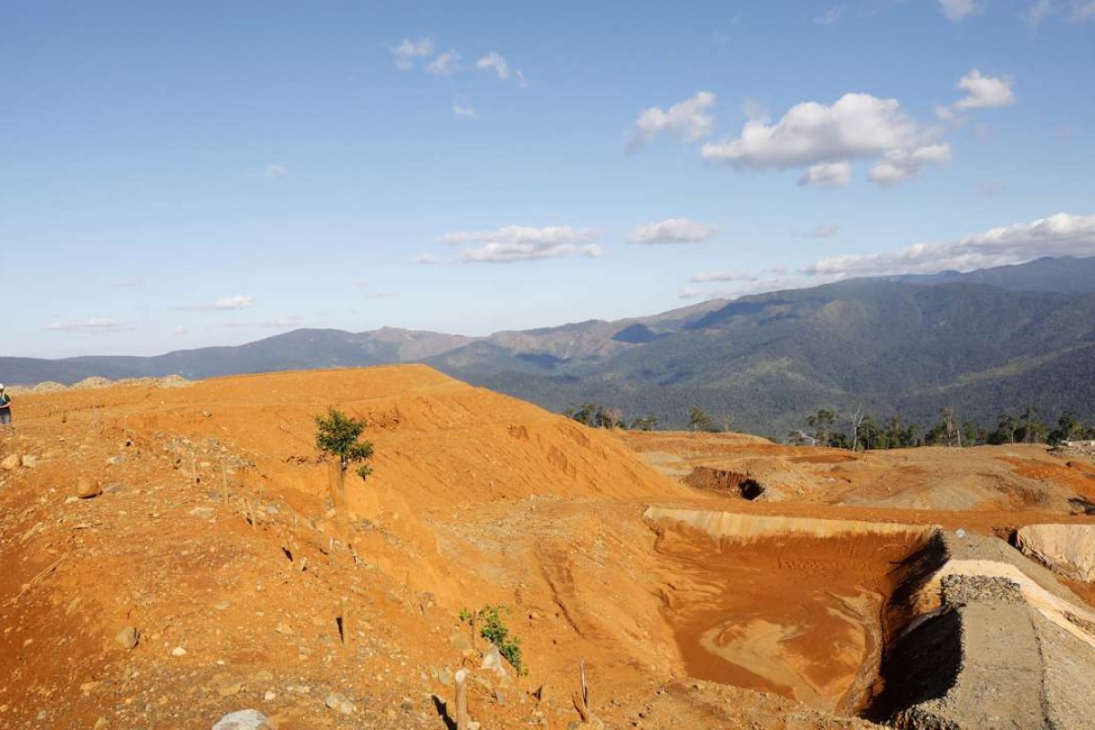 A nickel-ore mine in the northern Philippines. Photo: Reuters