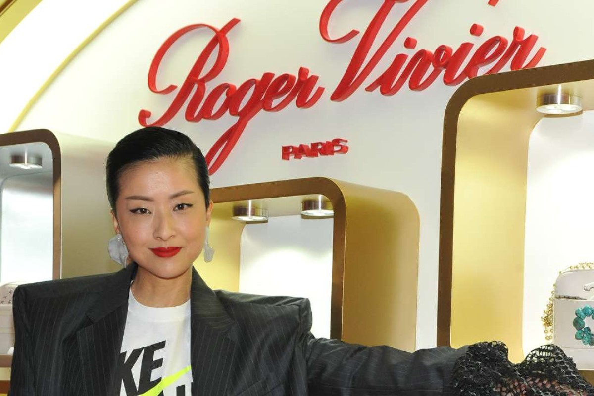 Hilary Tsui at Roger Vivier cocktail party