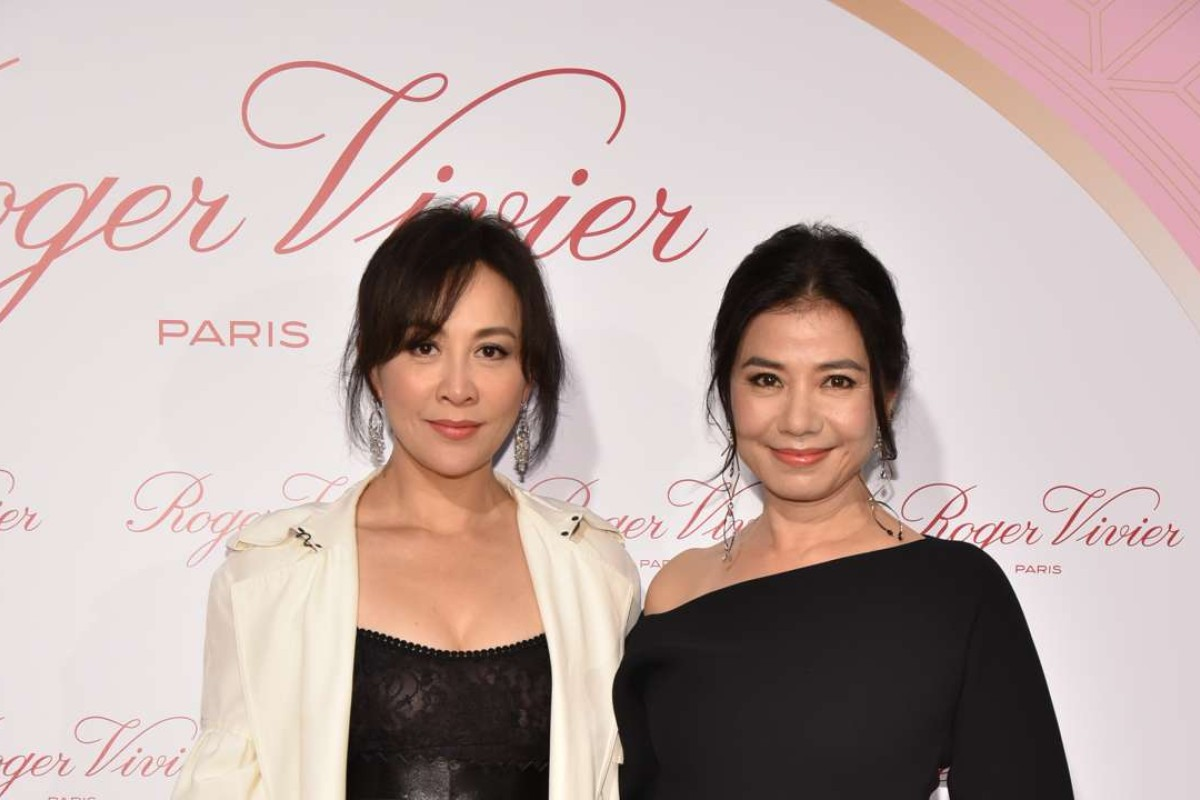 Carina Lau and Cherie Chung at Roger Vivier cocktail party