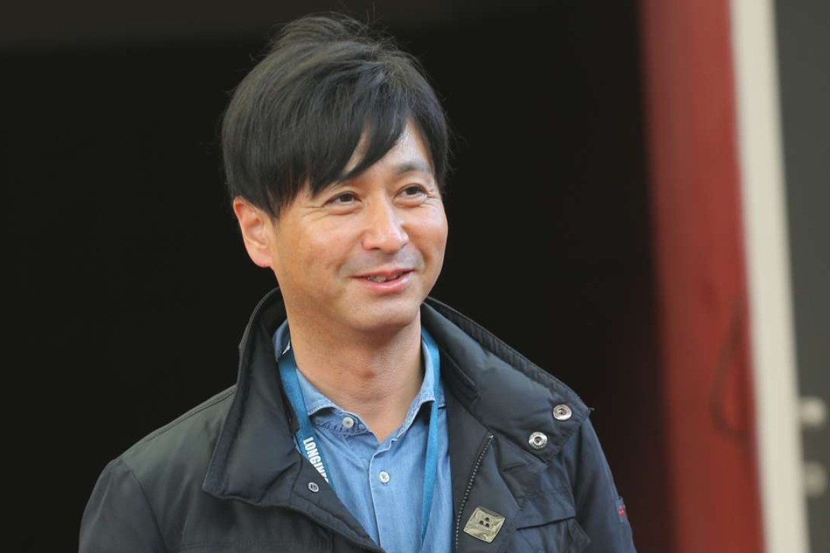 Japanese trainer Yasutoshi Ikee. Photo: Kenneth Chan