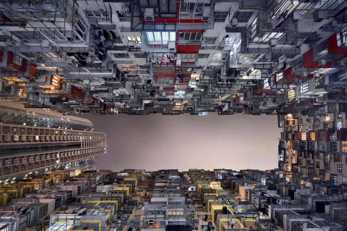 "#99 (2015) from Romain Jacquet-Lagrèze's ""Vertical Horizon"" series."