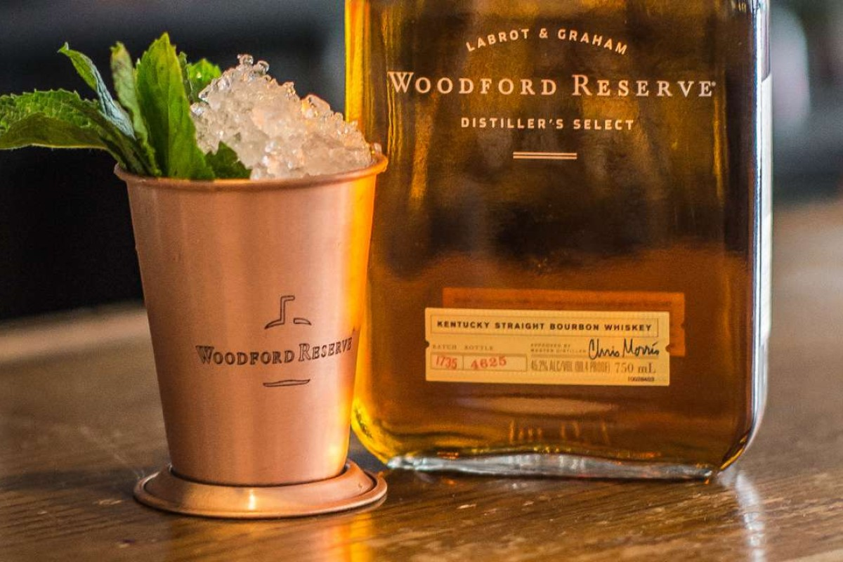 The smoky bourbon cocktails on offer at the Purple Bar terrace are the result of a collaboration between Hotel du Collectionneur and Woodford Reserve.