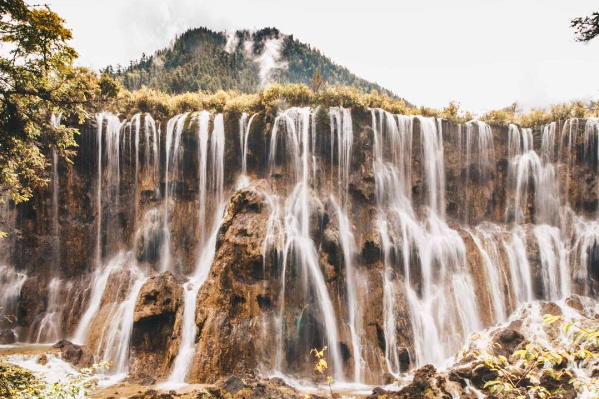 Nuorilang waterfall, near the junction of the Jiuzhaigou national park's three tourist valleys – Shuzheng, Rize and Zechawa. Pictures: Valerie Teh