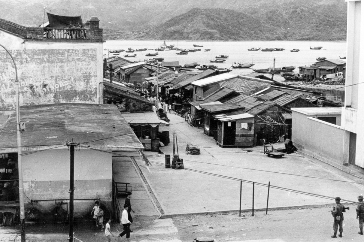 Hong Kong border police patrol the boundary between the territory and China at Sha Tau Kok in the 1960s. Communist China was never as isolated as were the communist countries behind Europe's Iron Curtain. Photo: SCMP