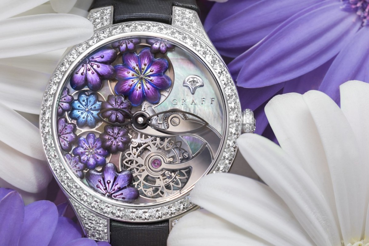 Graff's Floral Tourbillon