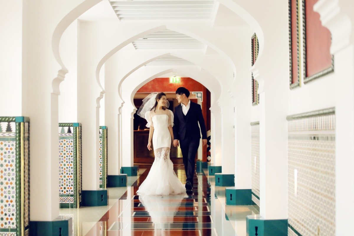 Couples can choose from the Burj Al Arab Jumeirah, Madinat Jumeirah and Jumeirah Zabeel Saray, which offer great backdrops for wedding photos