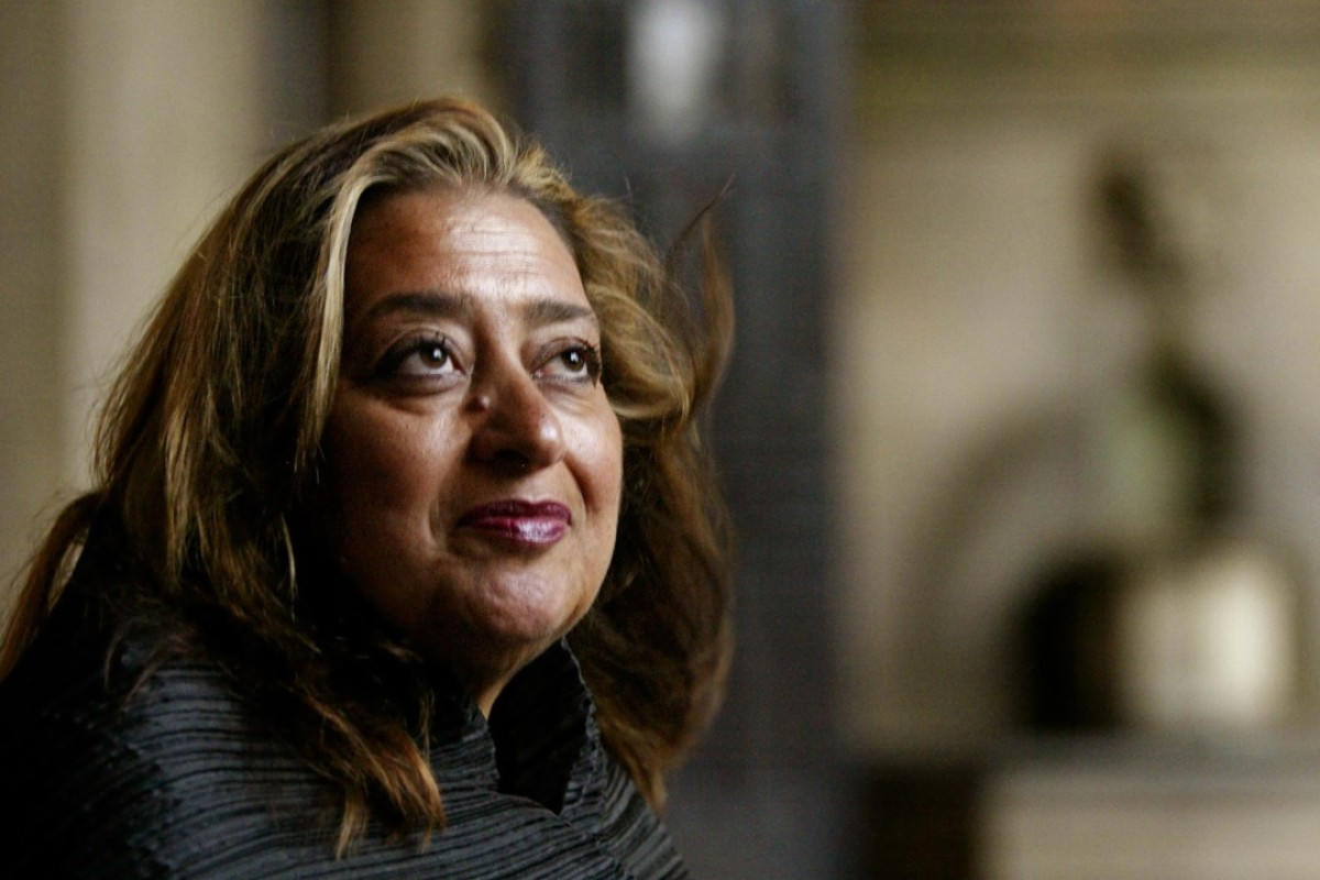 Zaha Hadid, 'Queen of the Curve,' who won architecture's biggest prize 13 years ago. Photo: AP