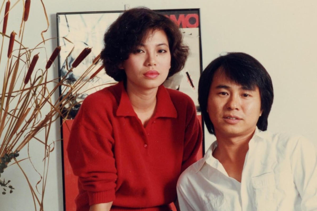 Tsai Chin and Hou Hsiao-hsien in Taipei Story.