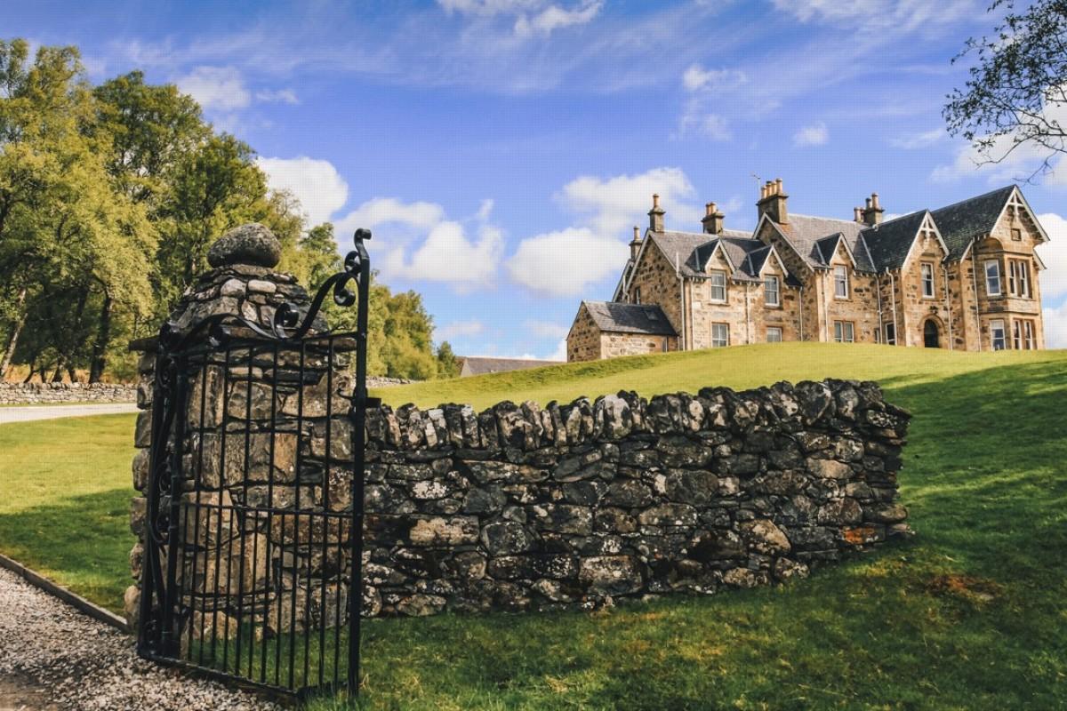 Alladale Lodge, in the Scottish Highlands. Picture: Valerie Teh