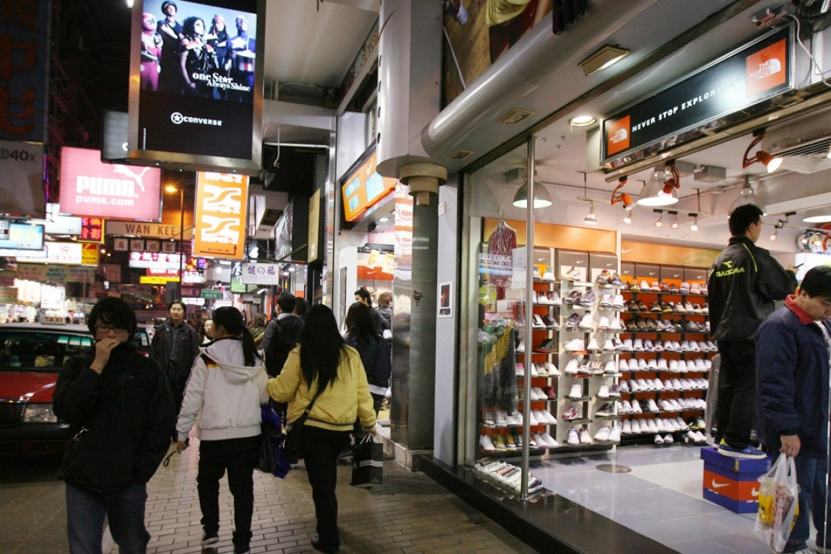 Fa Yuen Street in Mong Kok is your starting point for a sneaker hunt. Picture: SCMP