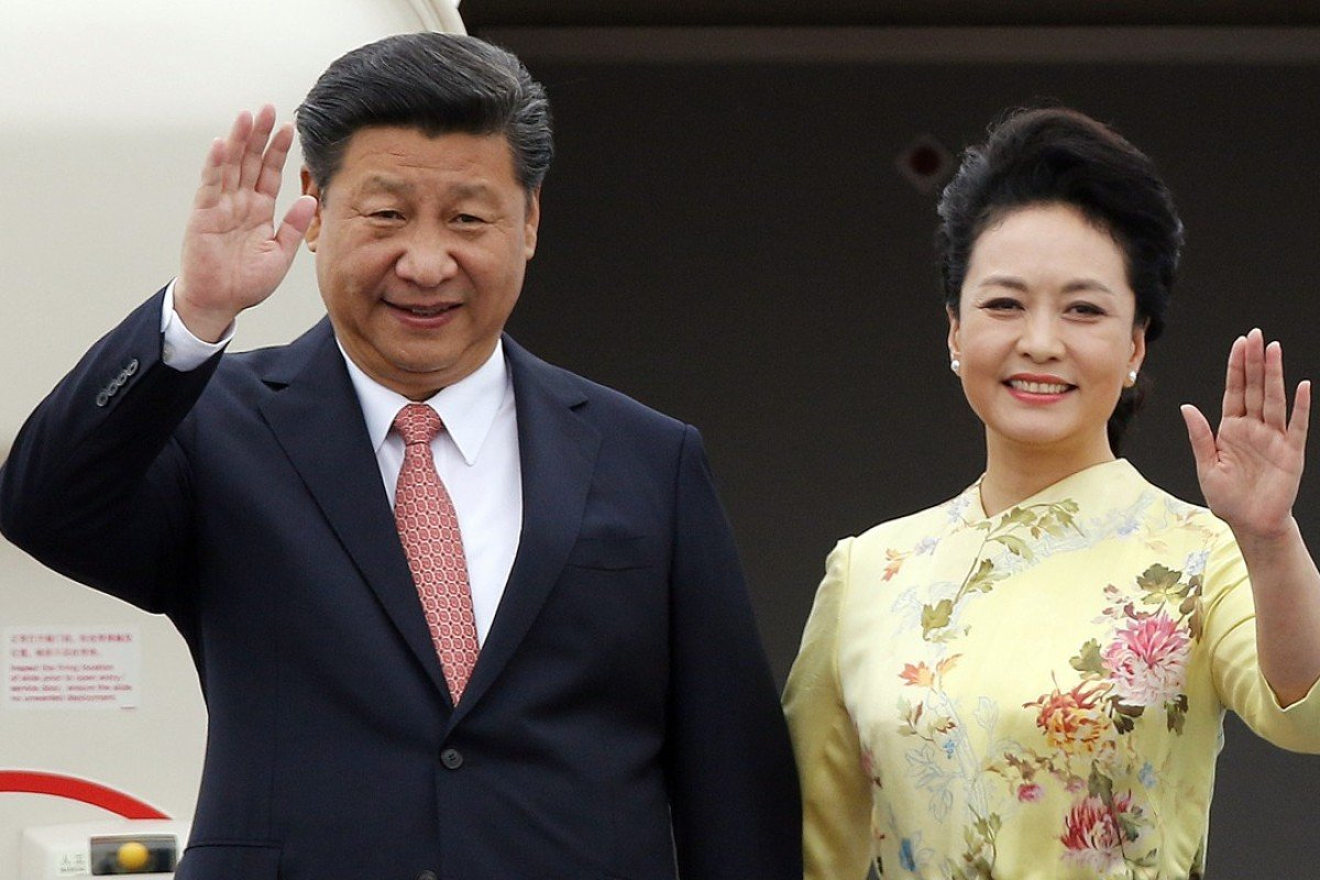 Chinese president Xi Jinping and first lady Peng Liyuan have arrived in Hong Kong to mark the 20th anniversary of the city's handover to China. We take a look at Peng's favourite looks and statement pieces