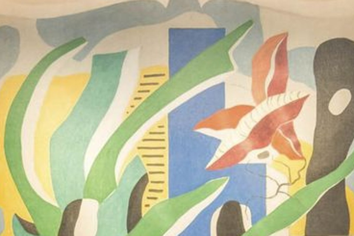 A Fernand Léger mural was offered for US$6 million at Art Basel, while a companion piece by Henri Matisse is on loan to Houston museum