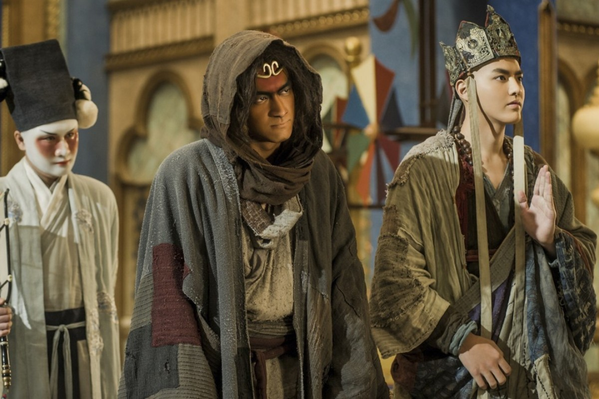 A scene from Journey to the West: The Demons Strike Back, which its director is adapting for a web series.