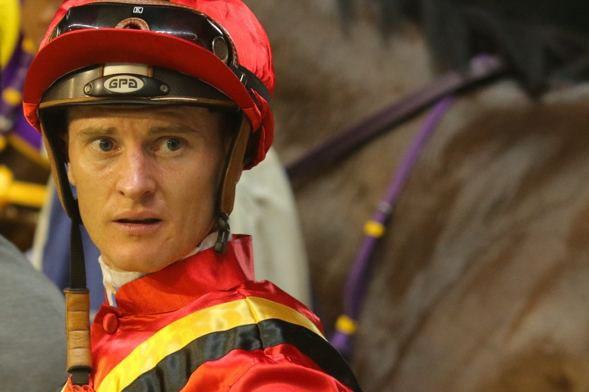 Zac Purton after winning on Fortune Bo Bo at Happy Valley last month. Photos: Kenneth Chan.