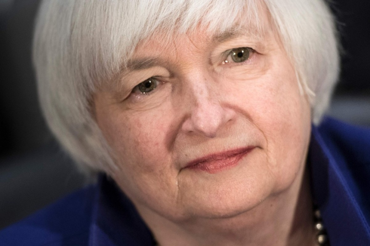 Soon, Janet Yellen will most likely try to shrink the Federal Reserve's balance sheet. Photo: AFP