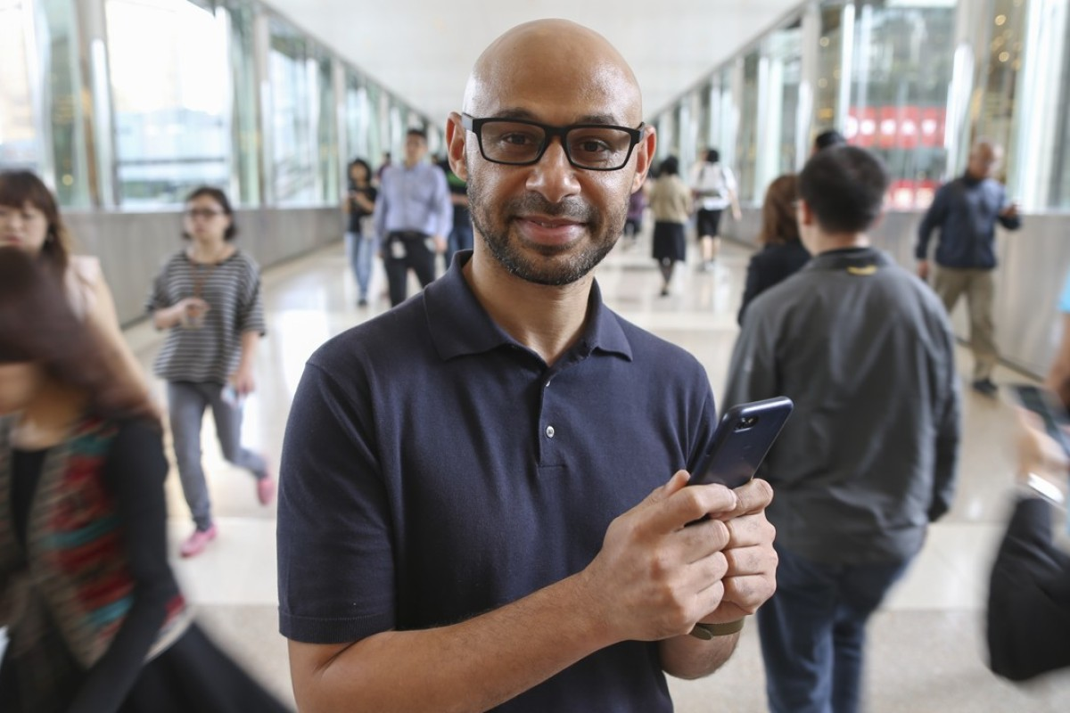 """Leon Adeoye created Enrich Others, an app for Hongkongers to """"enrich the lives of others by giving away their unwanted possessions to those that really need them"""". Picture: Dickson Lee"""