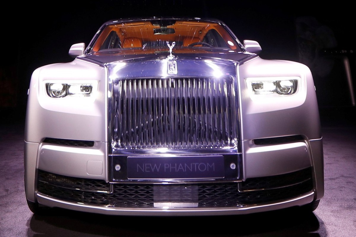The new Rolls-Royce Phantom is premiered at an event at Bonhams and in conjunction with an exhibition of previous models of the car, in London. Photo: REUTERS