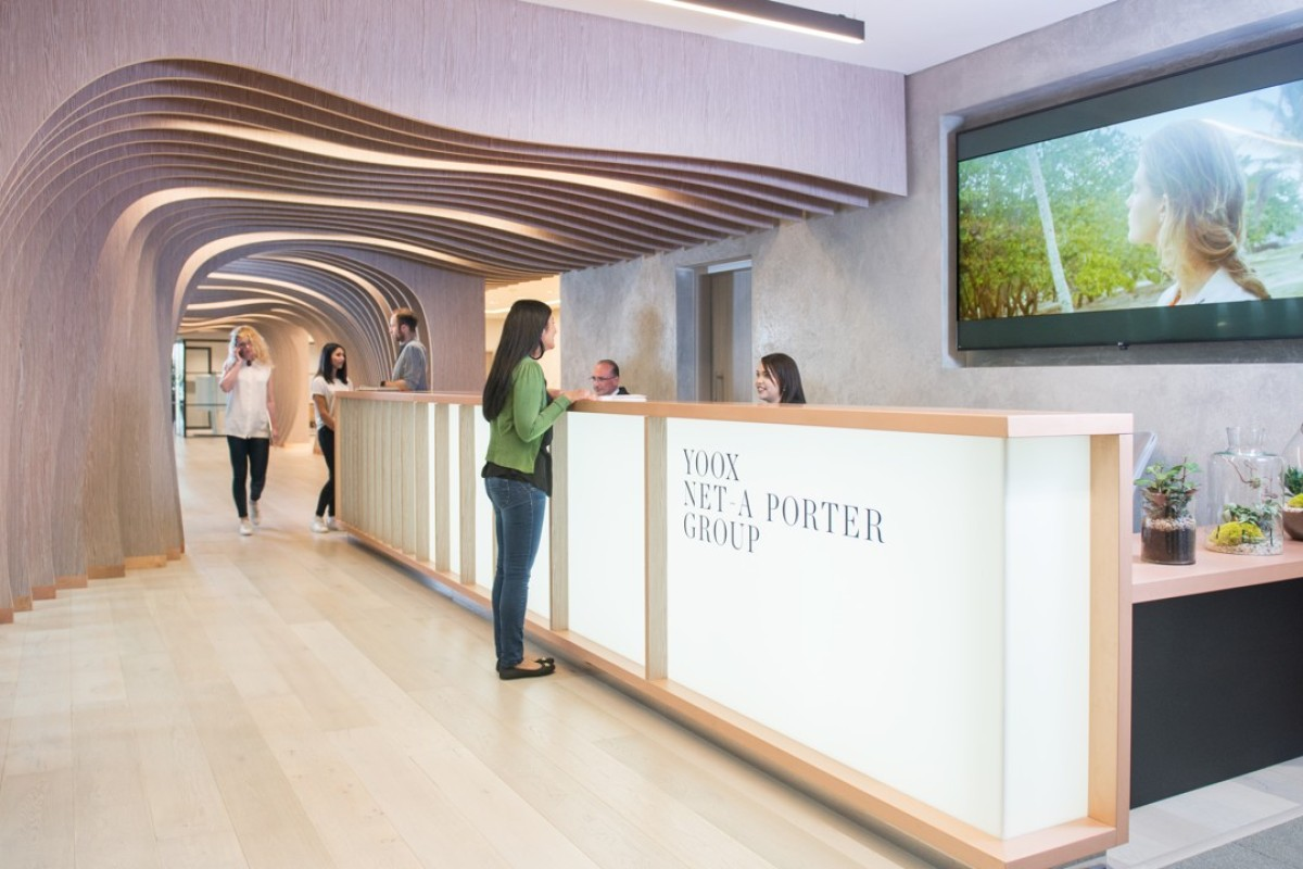 Luxury fashion portal Net-a-Porter is opening a tech-focused office designed by Cornwall's Eden Project architect.