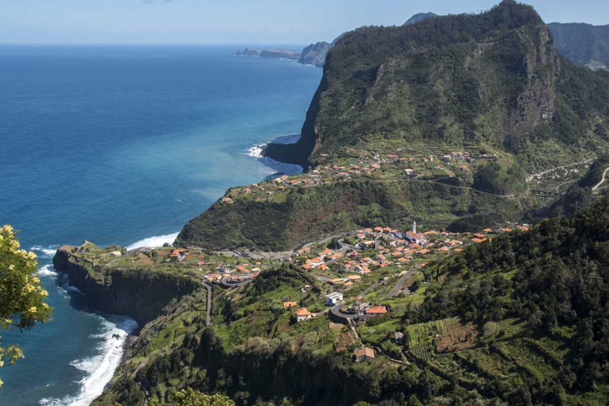 The farming community of Boaventuras, in Madeira – unnaturally beautiful and 50 years from civilisation. Picture: Tim Pile